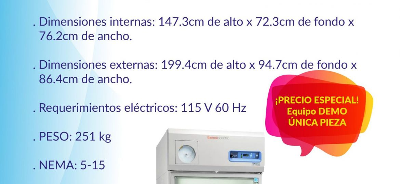 REFRIGERADOR PARA BANCO DE SANGRE DE ALTO DESEMPEÑO SERIE TSX MODELO TSX3004BY